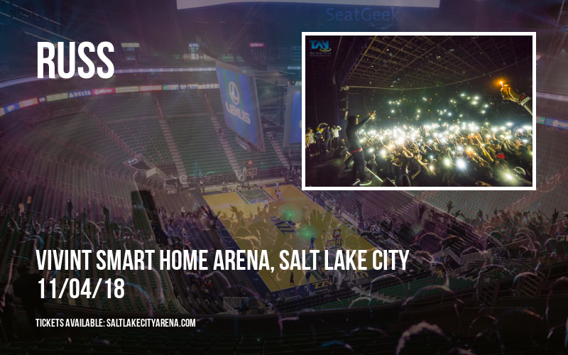 Russ at Vivint Smart Home Arena