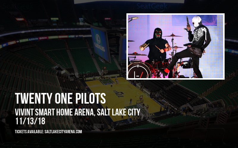 Twenty One Pilots at Vivint Smart Home Arena