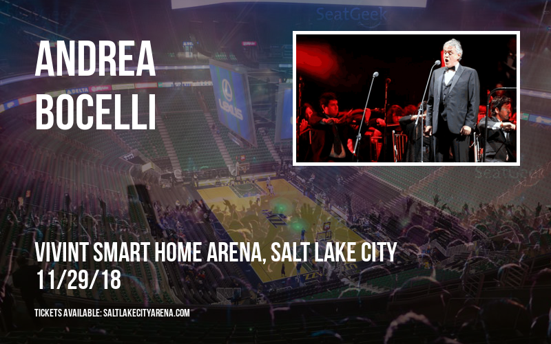 Andrea Bocelli at Vivint Smart Home Arena