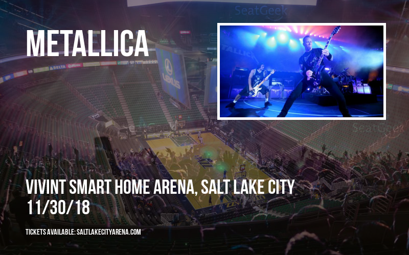 Metallica at Vivint Smart Home Arena