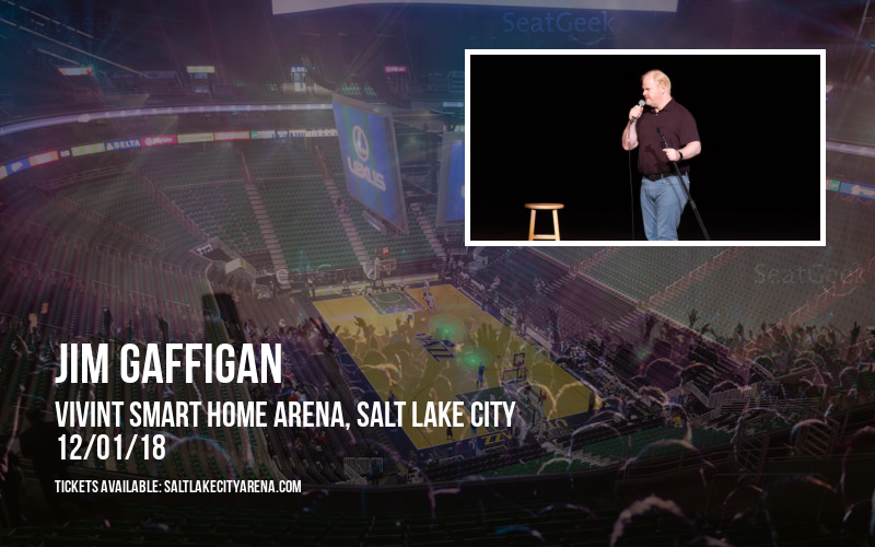 Jim Gaffigan at Vivint Smart Home Arena