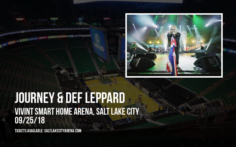 Journey & Def Leppard at Vivint Smart Home Arena