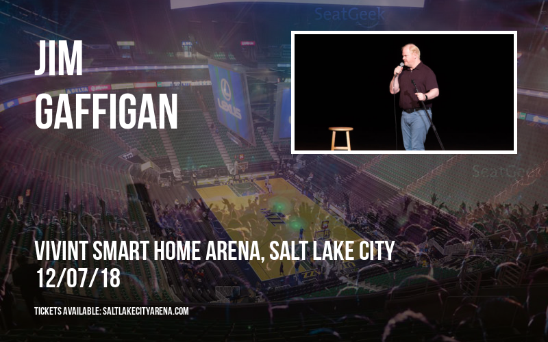 Jim Gaffigan at Vivint Smart Home Arena