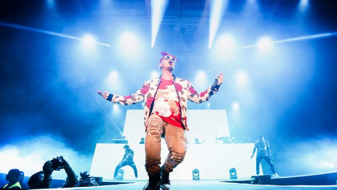 J Balvin at Vivint Smart Home Arena