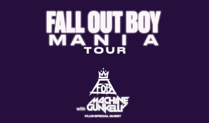 Fall Out Boy & Machine Gun Kelly at Vivint Smart Home Arena