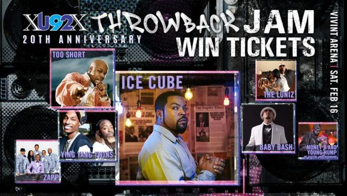 U92 20th Anniversary Throwback Jam: Ice Cube at Vivint Smart Home Arena