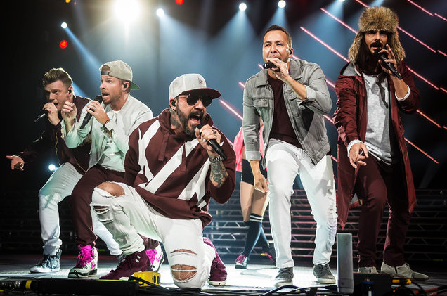 Backstreet Boys at Vivint Smart Home Arena