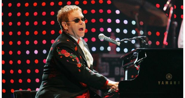 Elton John at Vivint Smart Home Arena