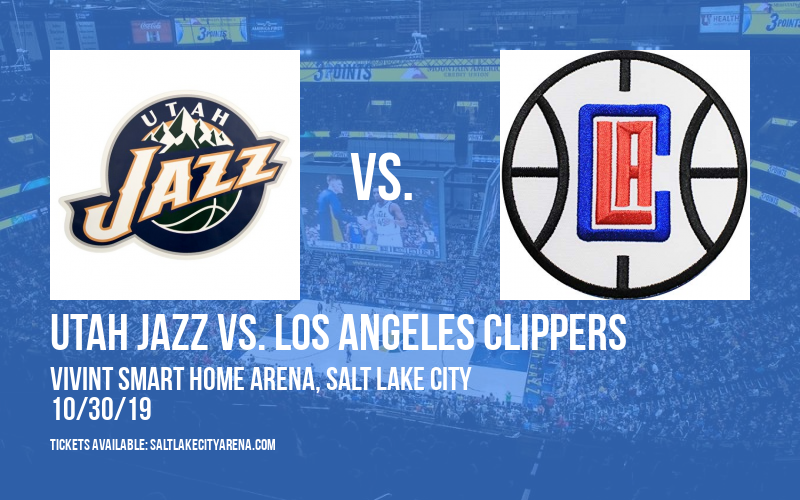 Utah Jazz vs. Los Angeles Clippers at Vivint Smart Home Arena