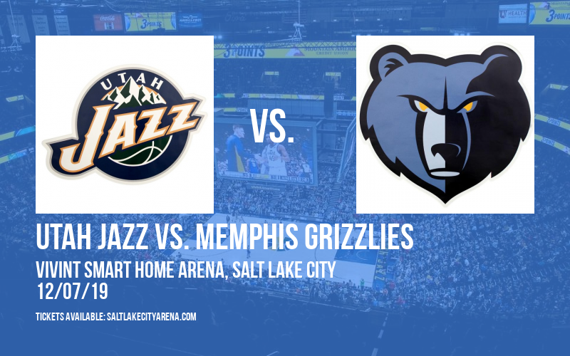 Utah Jazz vs. Memphis Grizzlies at Vivint Smart Home Arena