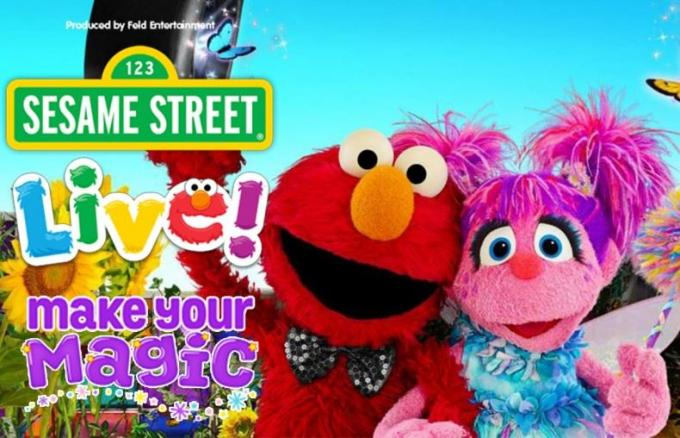 Sesame Street Live! Make Your Magic at Vivint Smart Home Arena