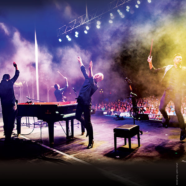 The Piano Guys at Vivint Smart Home Arena