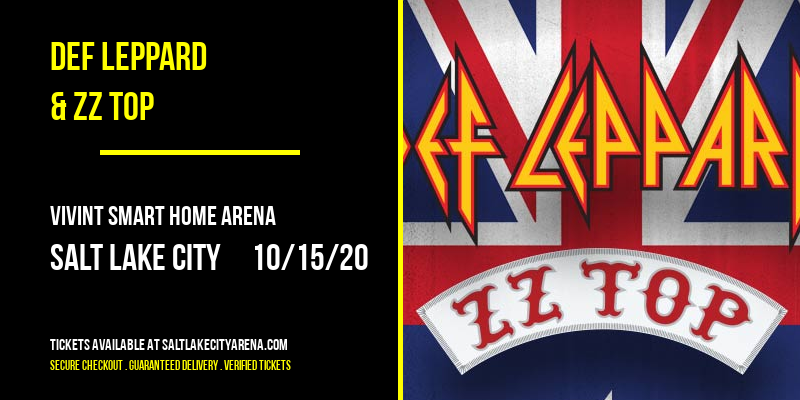 Def Leppard & ZZ Top at Vivint Smart Home Arena