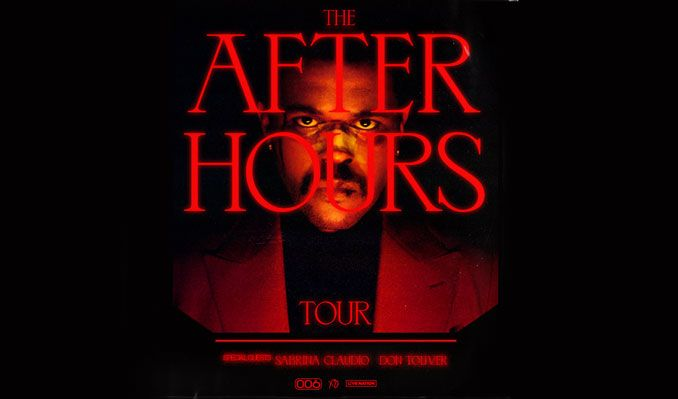 The Weeknd, Sabrina Claudio & Don Toliver at Vivint Smart Home Arena