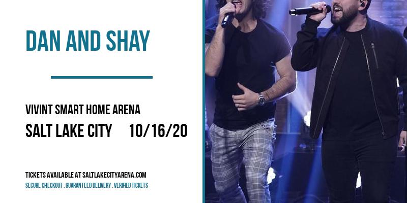 Dan And Shay [POSTPONED] at Vivint Smart Home Arena