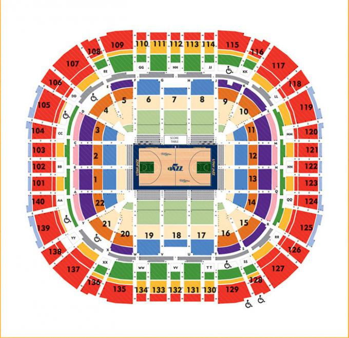 2020 Utah Jazz Season Tickets (Includes Tickets To All Regular Season Home Games) at Vivint Smart Home Arena