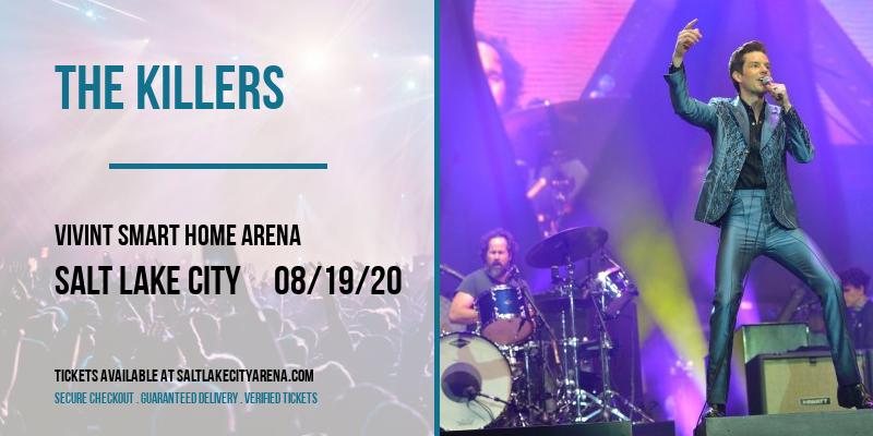 The Killers [POSTPONED] at Vivint Smart Home Arena