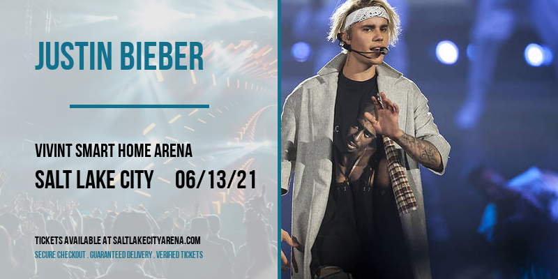 Justin Bieber at Vivint Smart Home Arena
