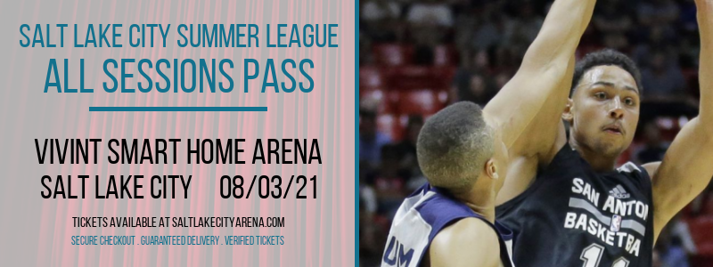 Salt Lake City Summer League -  All Sessions Pass at Vivint Smart Home Arena