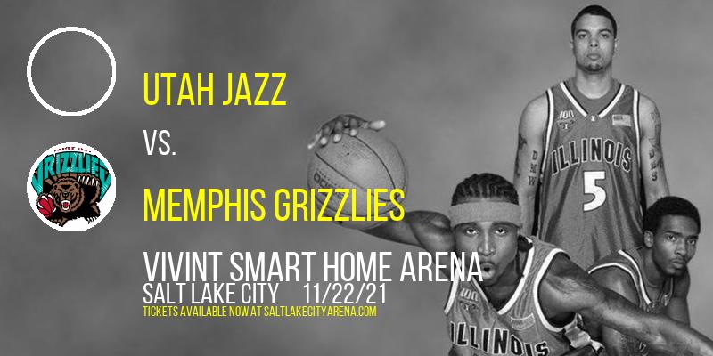 Utah Jazz vs. Memphis Grizzlies at Vivint Smart Home Arena