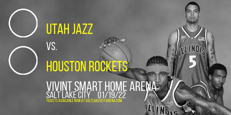 Utah Jazz vs. Houston Rockets at Vivint Smart Home Arena