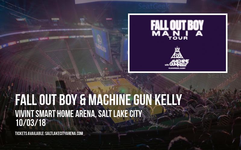 Fall Out Boy & Machine Gun Kelly at Vivint Smart Home Arena