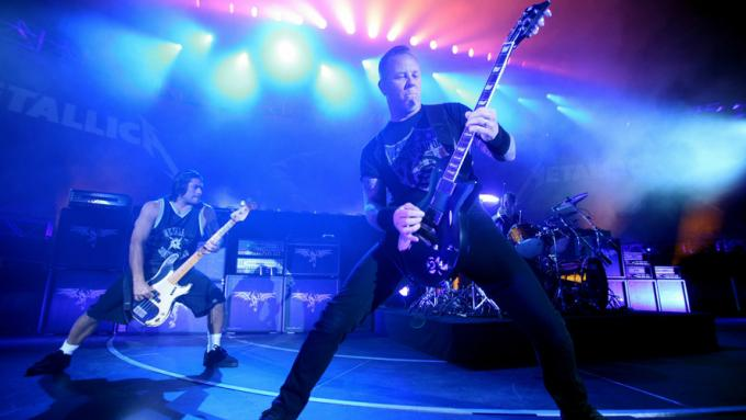 Metallica at Vivint Smart Home Arena