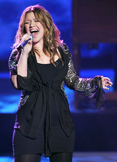 Kelly Clarkson at Vivint Smart Home Arena