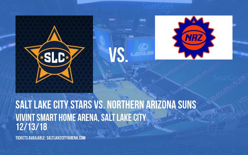 Salt Lake City Stars vs. Northern Arizona Suns at Vivint Smart Home Arena