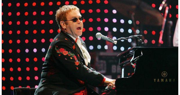 Elton John at Vivint Smart Home Arena