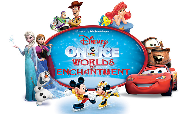 Disney On Ice: Worlds of Enchantment at Vivint Smart Home Arena