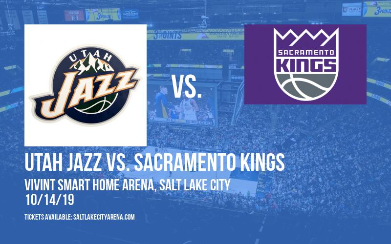 NBA Preseason: Utah Jazz vs. Sacramento Kings at Vivint Smart Home Arena