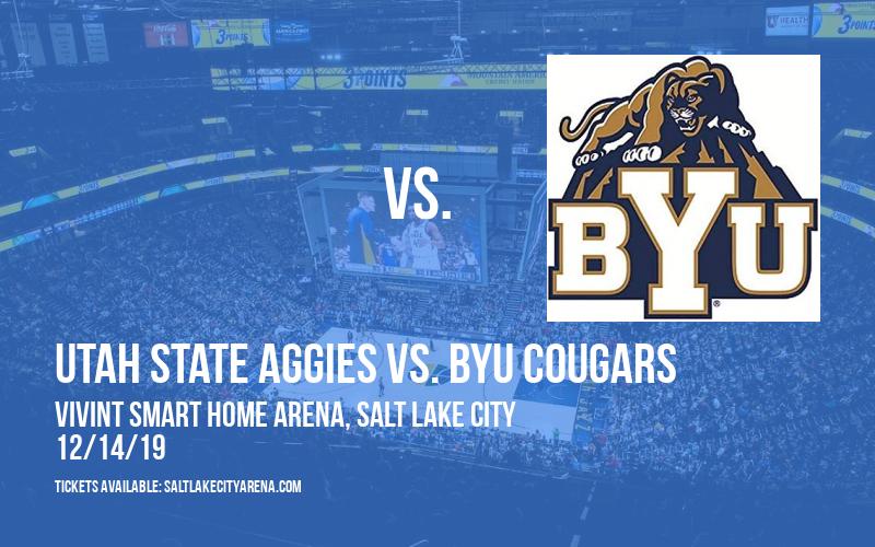 Beehive Classic: Utah State Aggies vs. BYU Cougars at Vivint Smart Home Arena