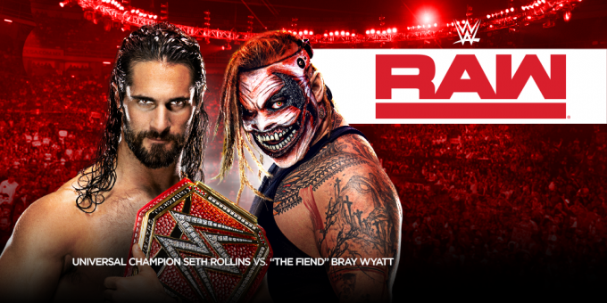 WWE: Raw at Vivint Smart Home Arena