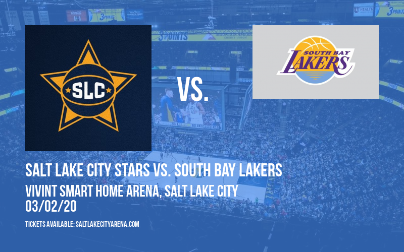Salt Lake City Stars vs. South Bay Lakers at Vivint Smart Home Arena