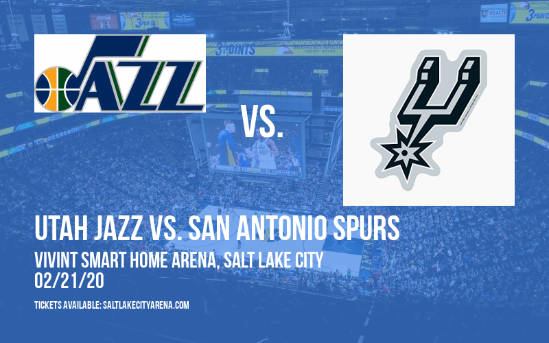 Utah Jazz vs. San Antonio Spurs at Vivint Smart Home Arena