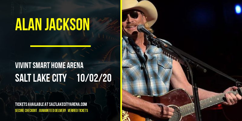 Alan Jackson at Vivint Smart Home Arena