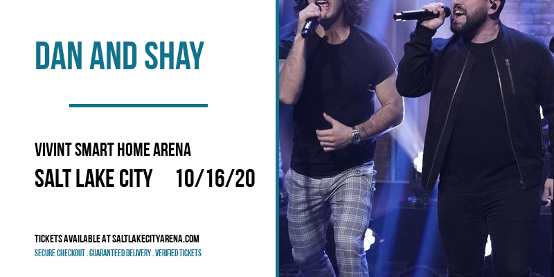 Dan And Shay at Vivint Smart Home Arena