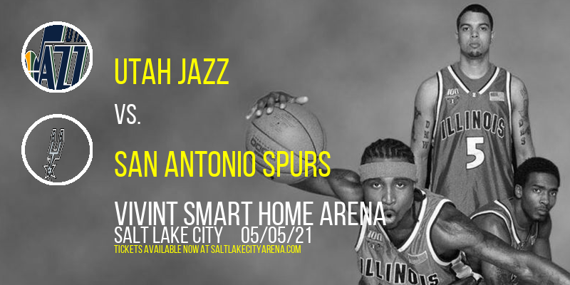 Utah Jazz vs. San Antonio Spurs at Vivint Smart Home Arena