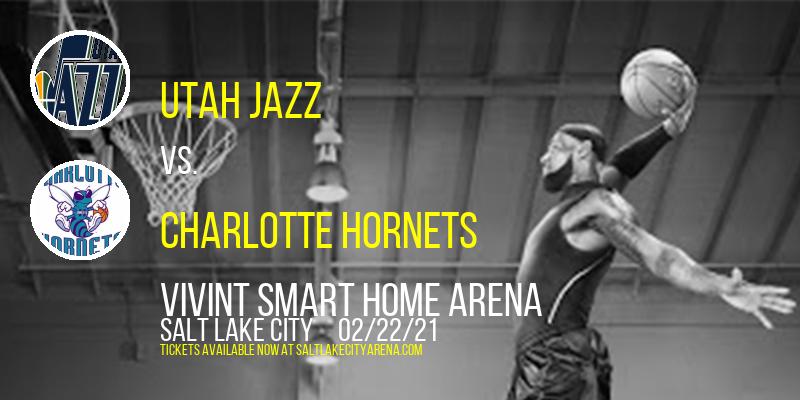 Utah Jazz vs. Charlotte Hornets at Vivint Smart Home Arena