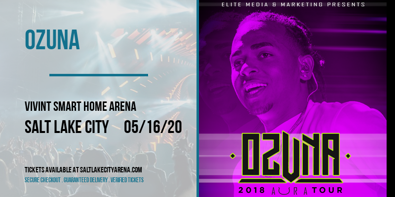 Ozuna [CANCELLED] at Vivint Smart Home Arena