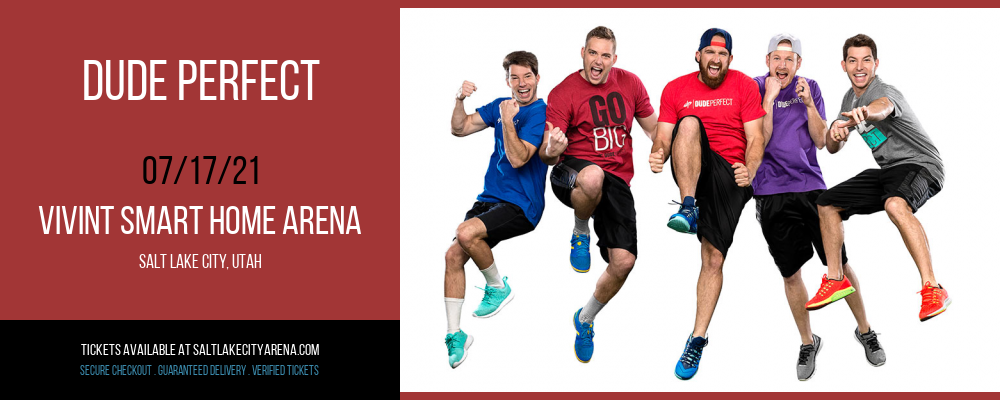 Dude Perfect [CANCELLED] at Vivint Smart Home Arena
