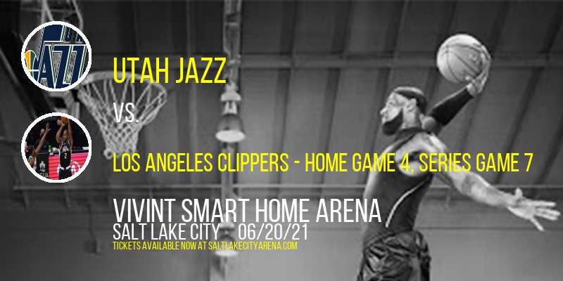 NBA Western Conference Semifinals: Utah Jazz vs. TBD - Home Game 4 (Date: TBD - If Necessary) [CANCELLED] at Vivint Smart Home Arena