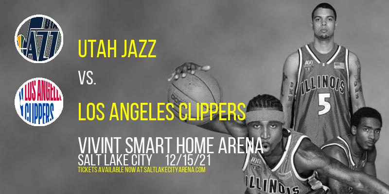 Utah Jazz vs. Los Angeles Clippers at Vivint Smart Home Arena