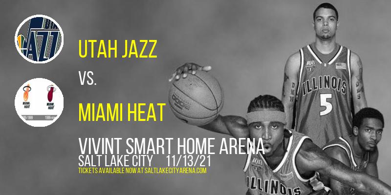 Utah Jazz vs. Miami Heat at Vivint Smart Home Arena