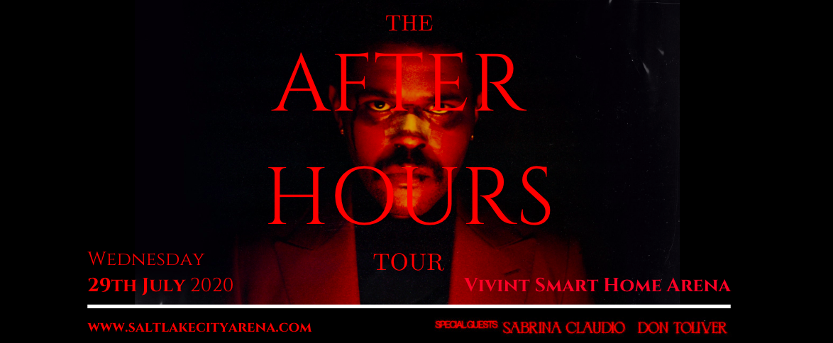 The Weeknd, Sabrina Claudio & Don Toliver [CANCELLED] at Vivint Smart Home Arena